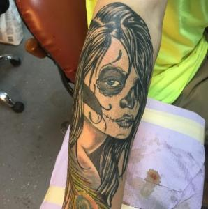 Dawn Lubbert Tattoo Art - Day of the Dead