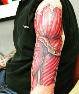 Mark Lubbert Tattoo Art -  - Muscle Tissue