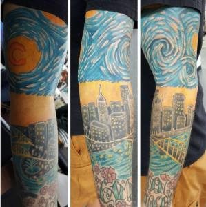 Jon Egenlauf Tattoo Art - Sleeve