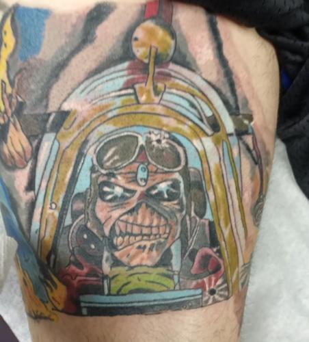 Mark Lubbert Tattoo Art