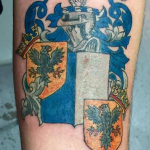 Dawn Lubbert Tattoo Art - Family Crest