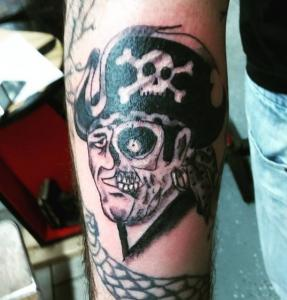 Mark Lubbert Tattoo Art - Pirate