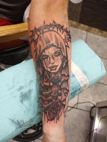 Mark Lubbert tattoos