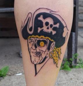Joe Cupac Tattoo Art - Pirate