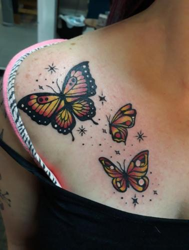 Marshall Reagan - Butterfly Tattoo