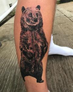 Vika Danilenko Tattoo Art   - Bear
